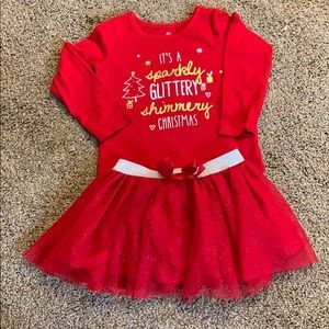 24 month Christmas  long sleeved T shirt.
